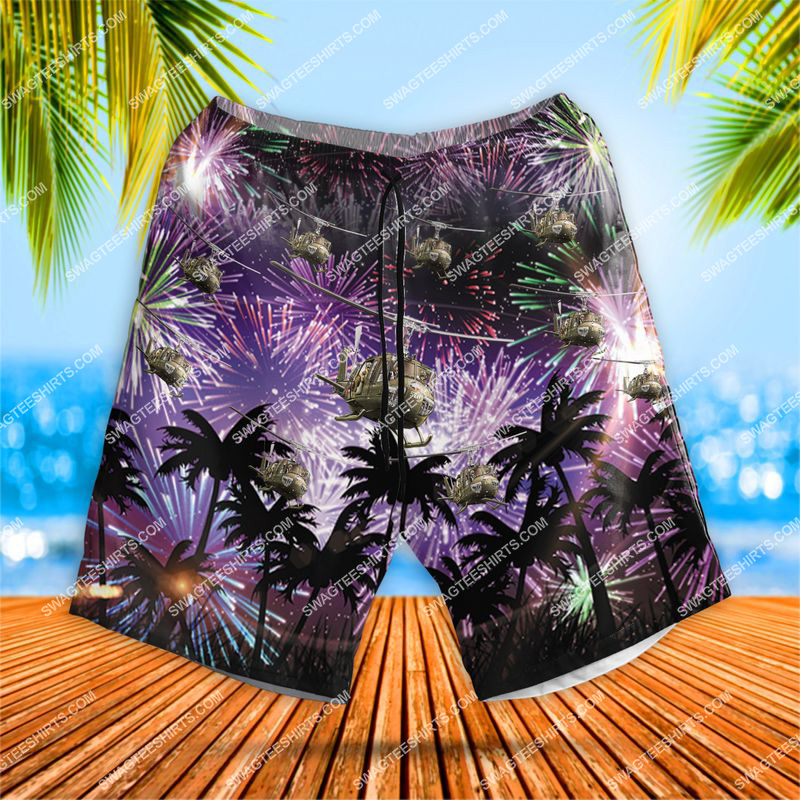 huey 4th of july all over print hawaiian shorts 1 - Copy