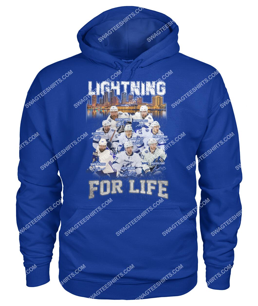 lightning for life tampa bay lightning national hockey league hoodie 1