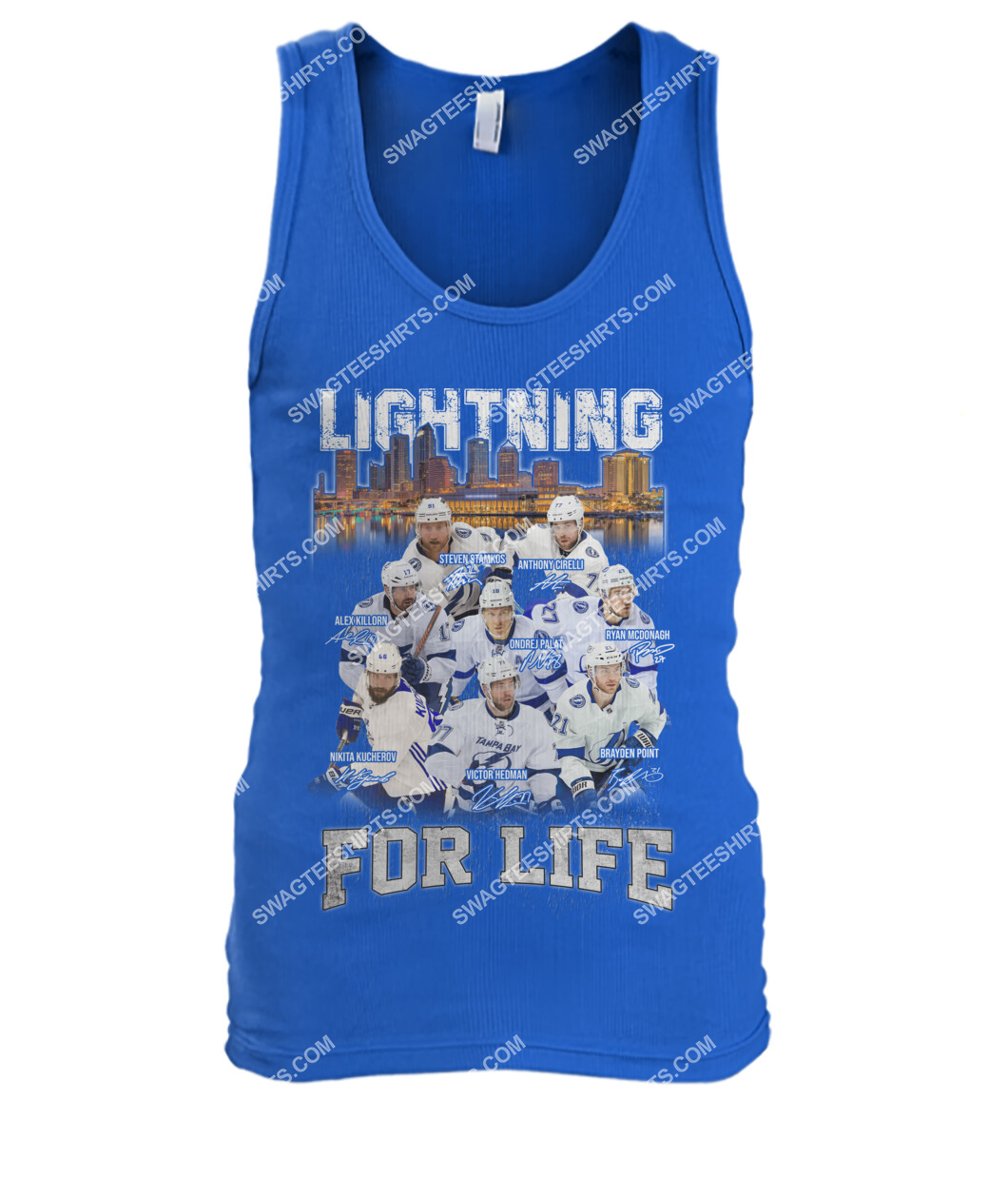 lightning for life tampa bay lightning national hockey league tank top 1