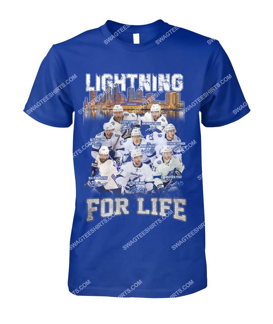 lightning for life tampa bay lightning national hockey league tshirt 1