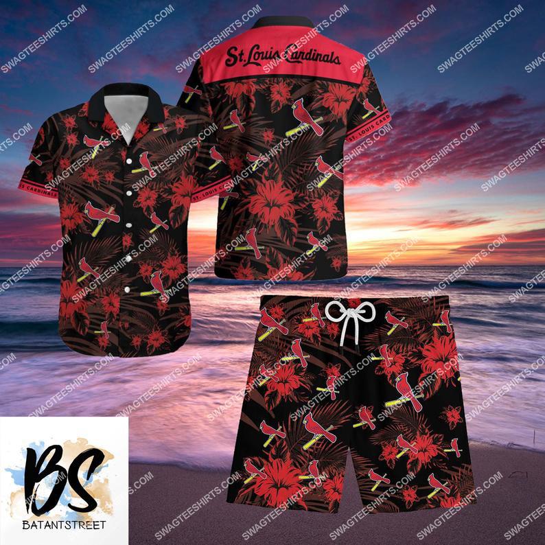 mlb st louis cardinals full printing hawaiian shirt 1