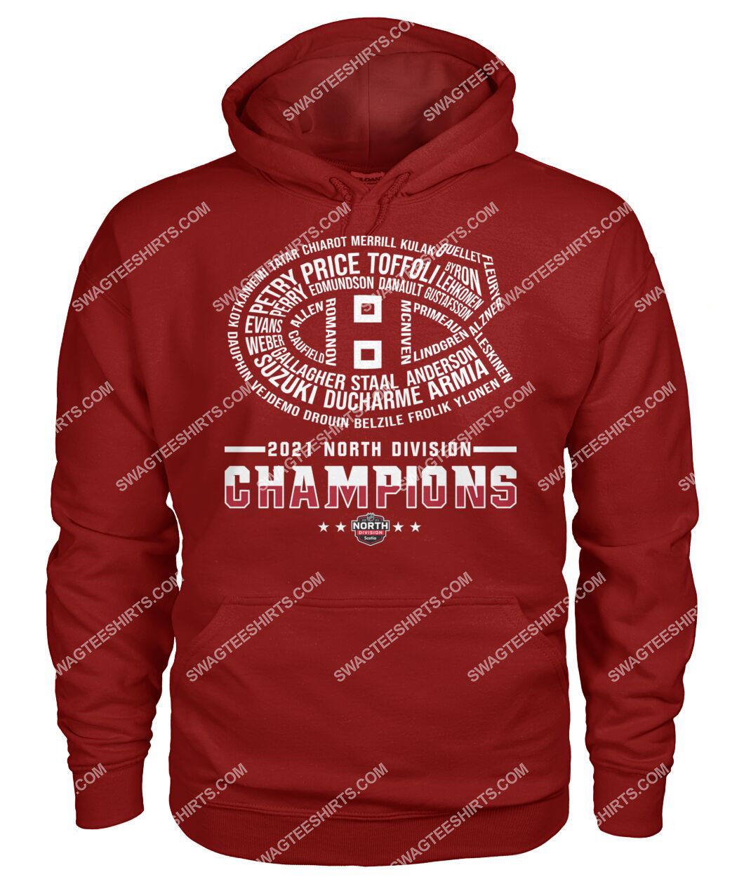 montreal canadiens 2021 north division champions hoodie 1