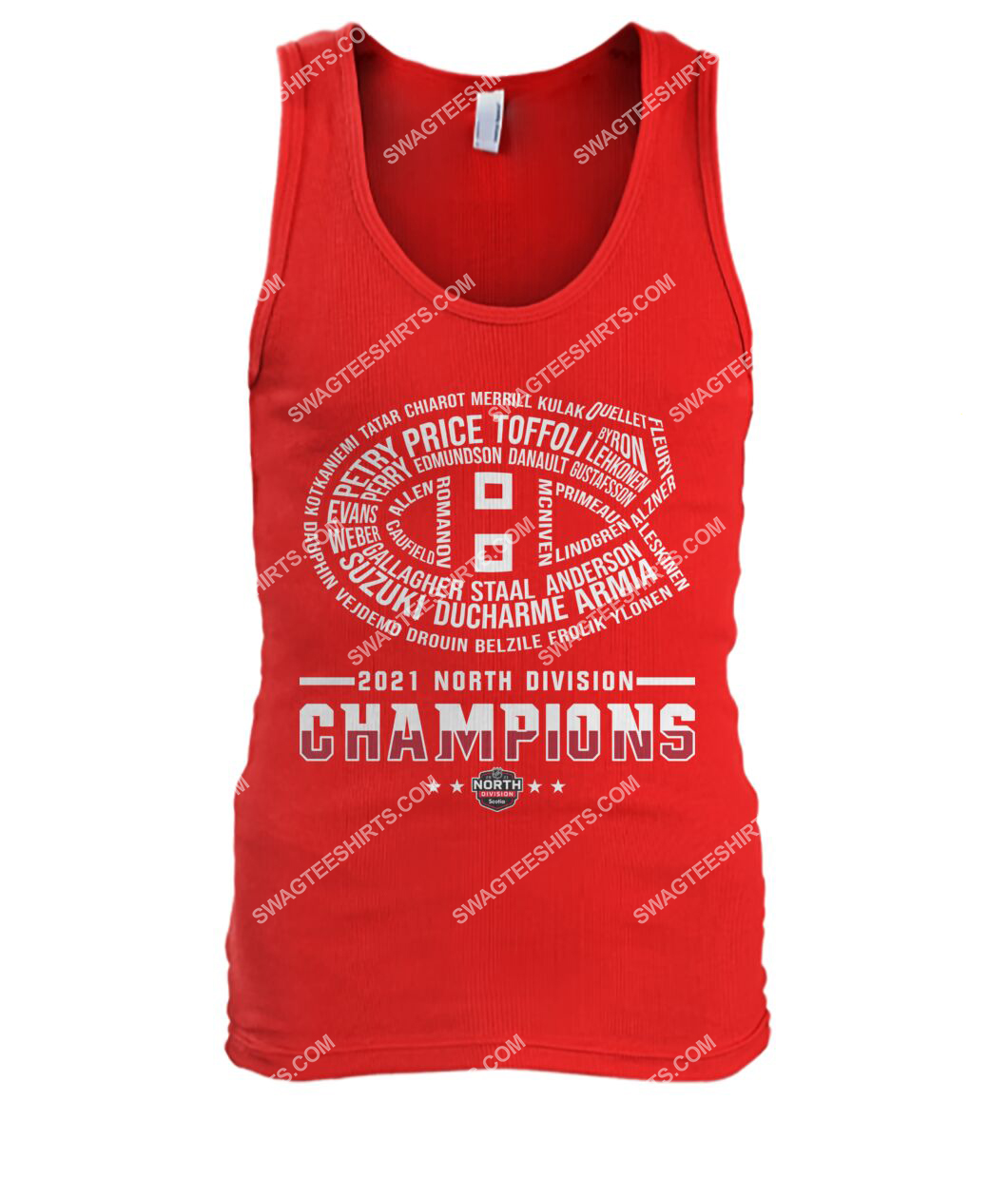 montreal canadiens 2021 north division champions tank top 1