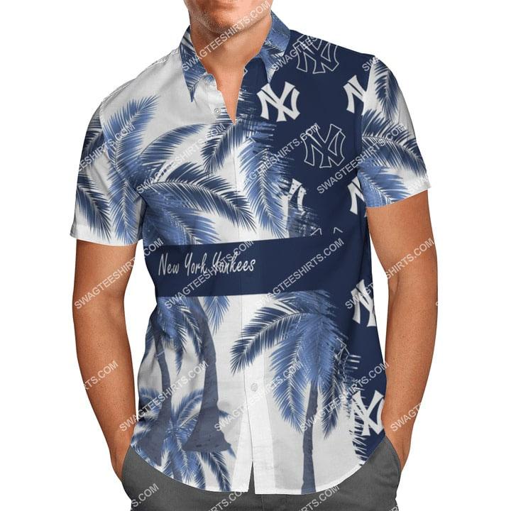 new york yankees team full printing summer hawaiian shirt 2(1) - Copy