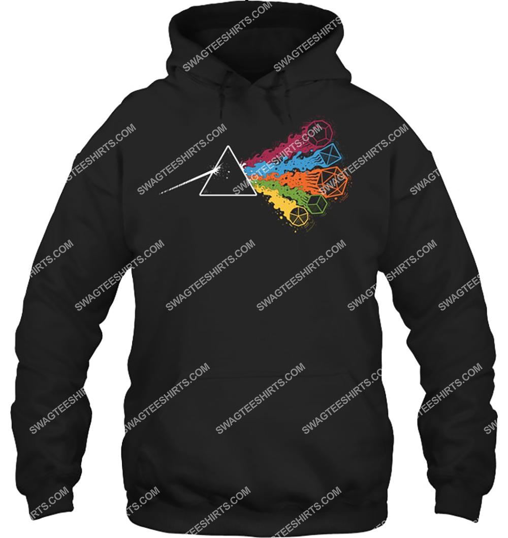 pink floyd the dark side of the dices hoodie 1