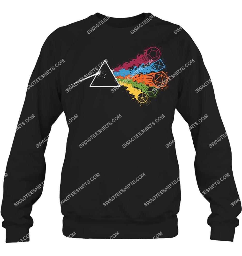 pink floyd the dark side of the dices sweatshirt 1