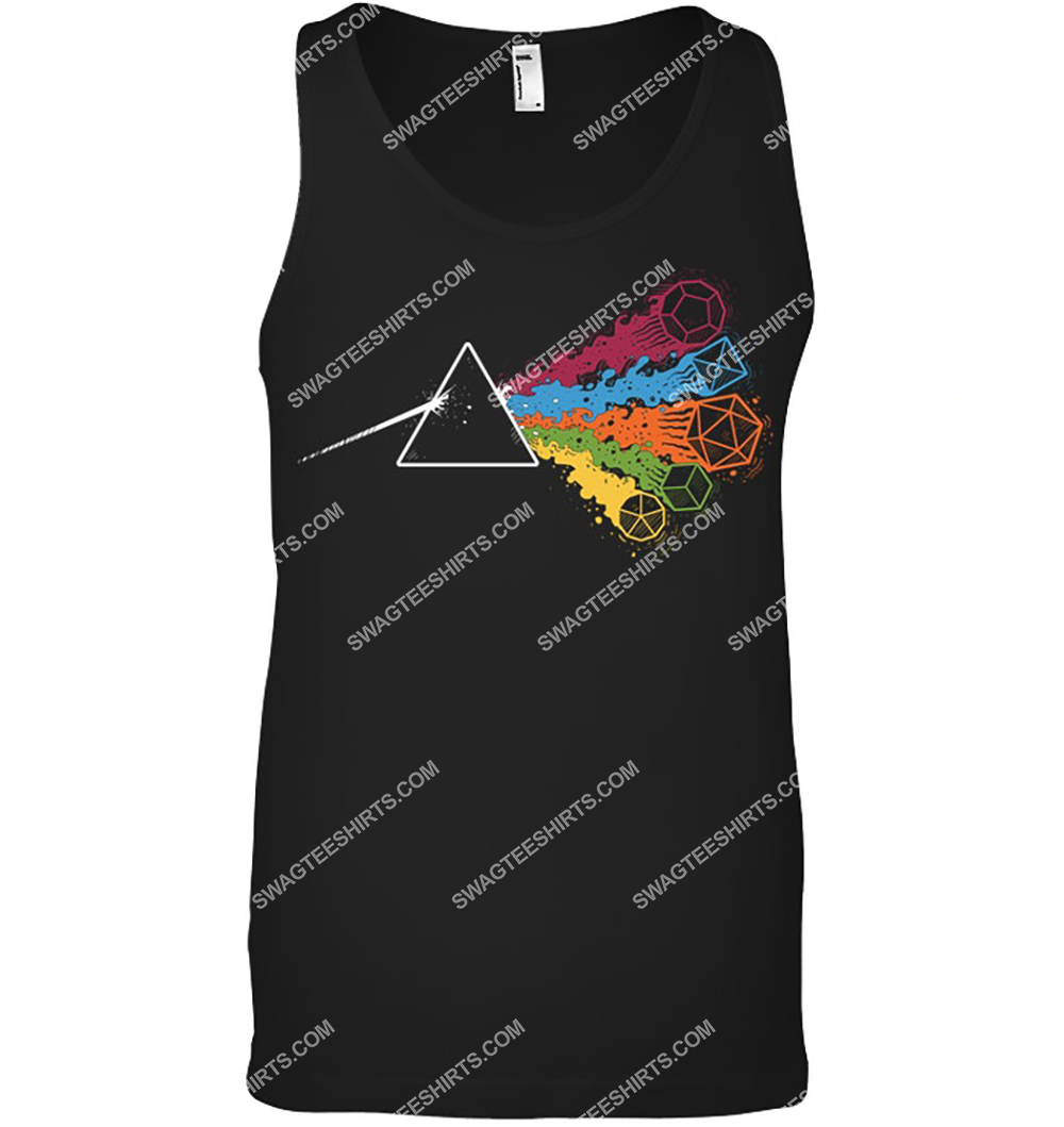 pink floyd the dark side of the dices tank top 1