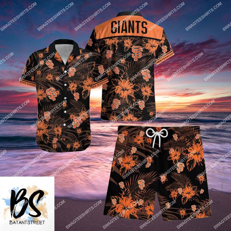 san francisco giants major league baseball full printing hawaiian shirt 1