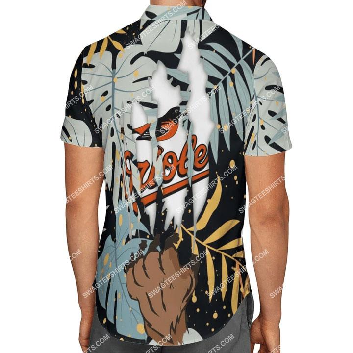 the baltimore orioles baseball full printing summer hawaiian shirt 3(1)