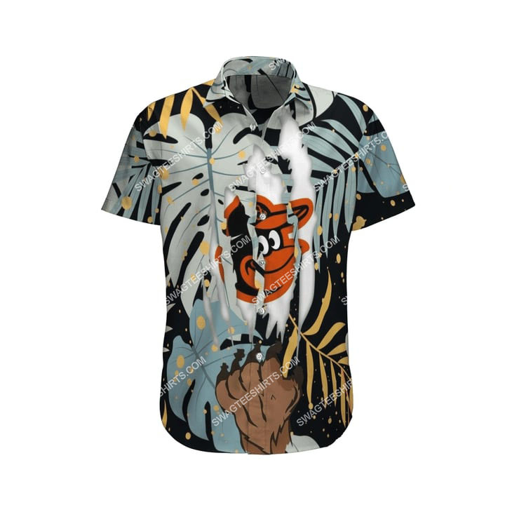 the baltimore orioles baseball full printing summer hawaiian shirt 4(1)