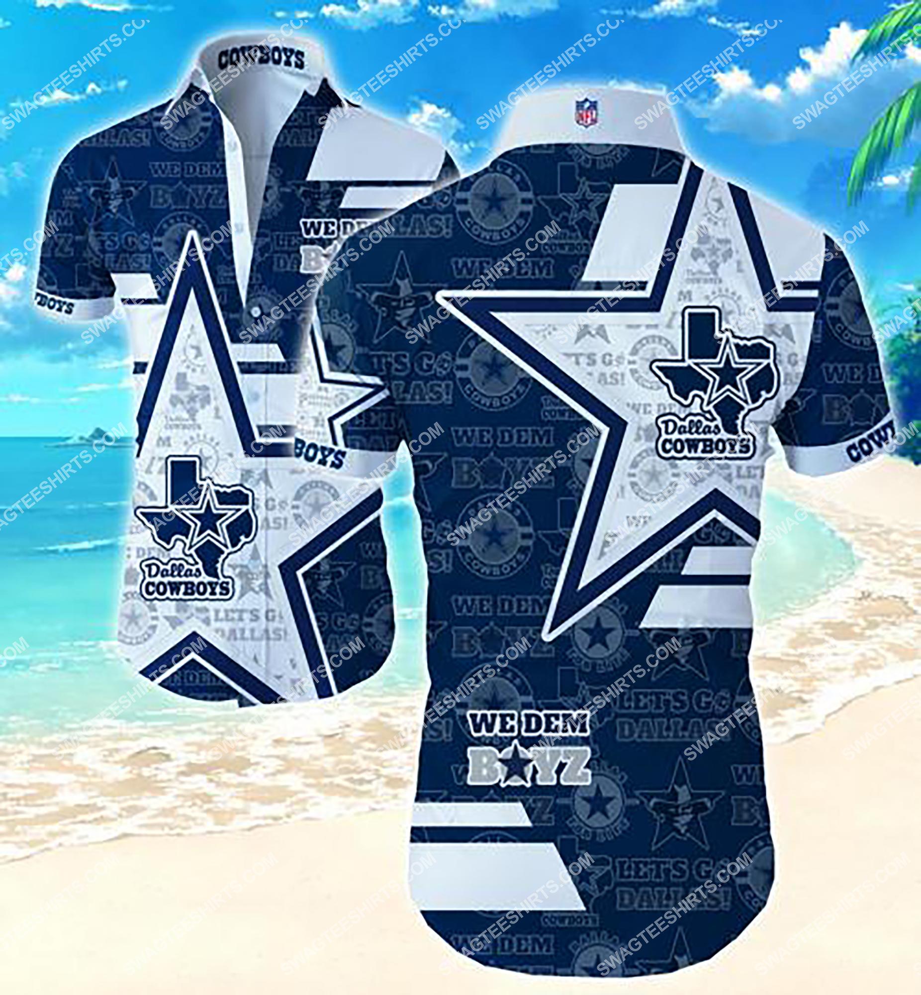 the dallas cowboys we dem boyz summer hawaiian shirt 2 - Copy