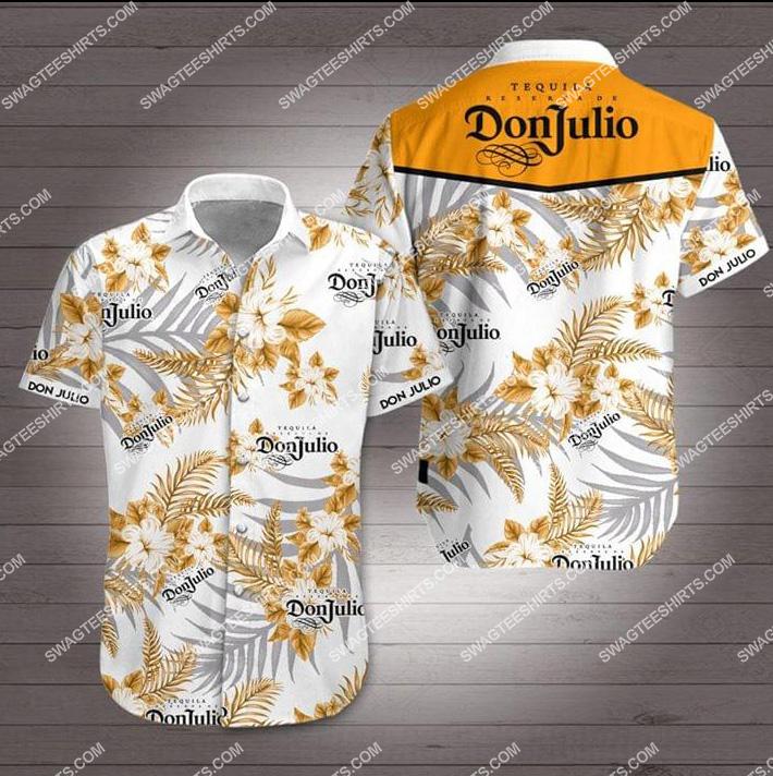 the don julio tequila all over print hawaiian shirt 1