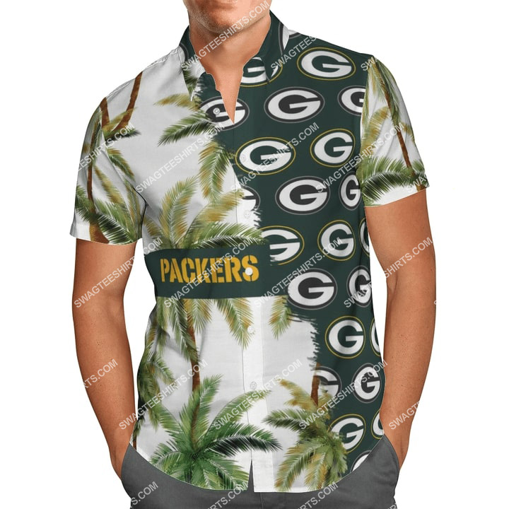 the green bay packers football team full printing hawaiian shirt 1 - Copy