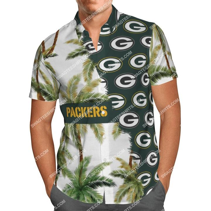 the green bay packers football team full printing hawaiian shirt 1