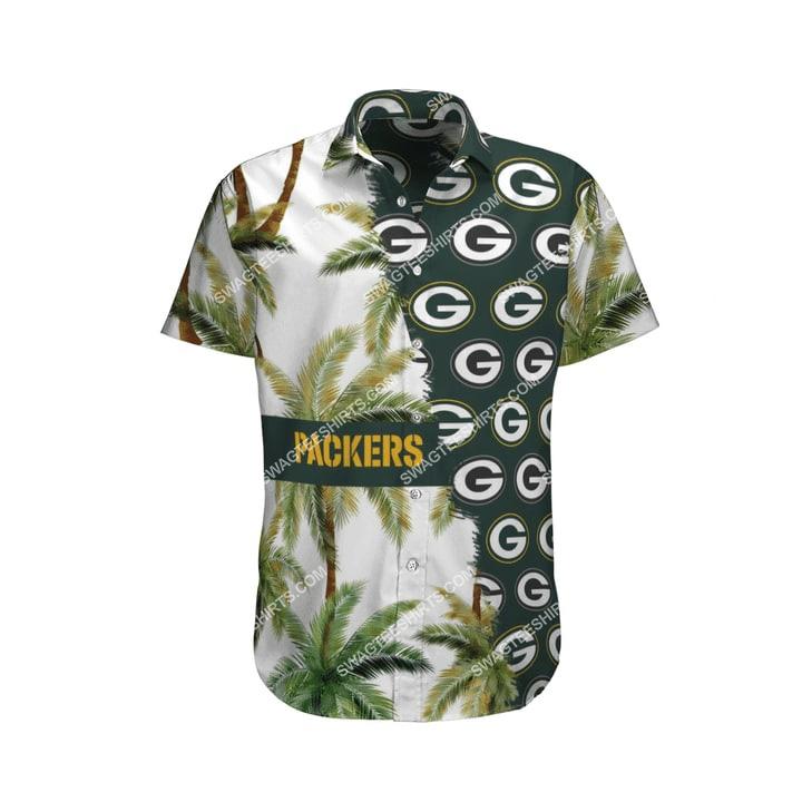 the green bay packers football team full printing hawaiian shirt 4(1)