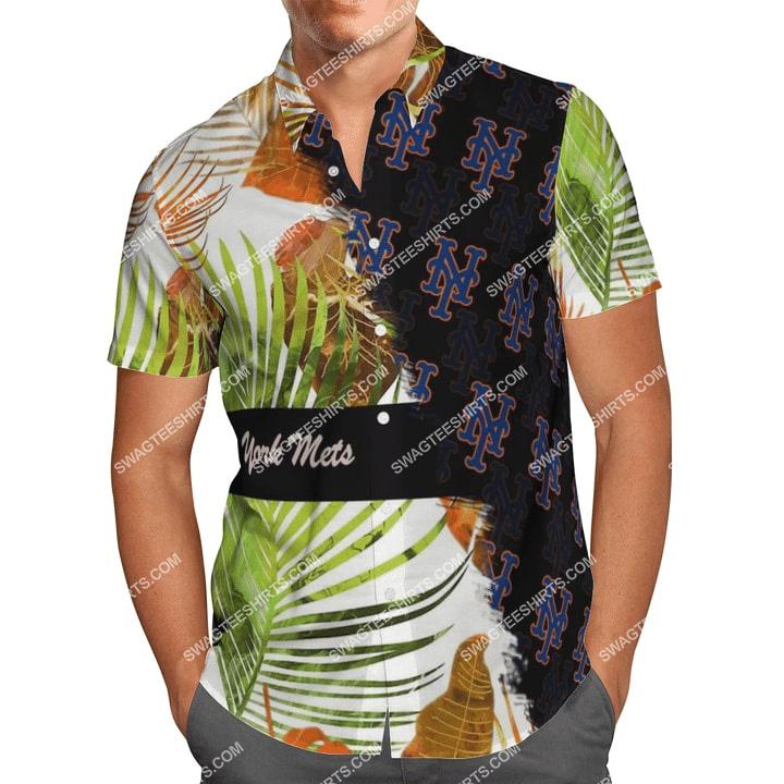 the new york mets team full printing hawaiian shirt 1