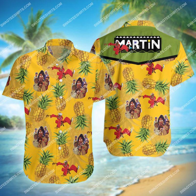 the tv show martin all over print hawaiian shirt 1