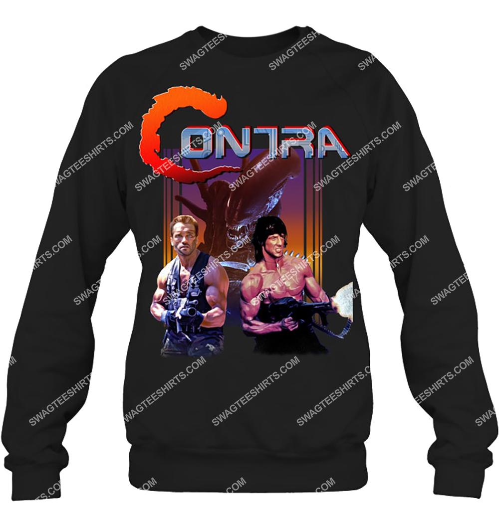 vintage contra rip off sweatshirt 1