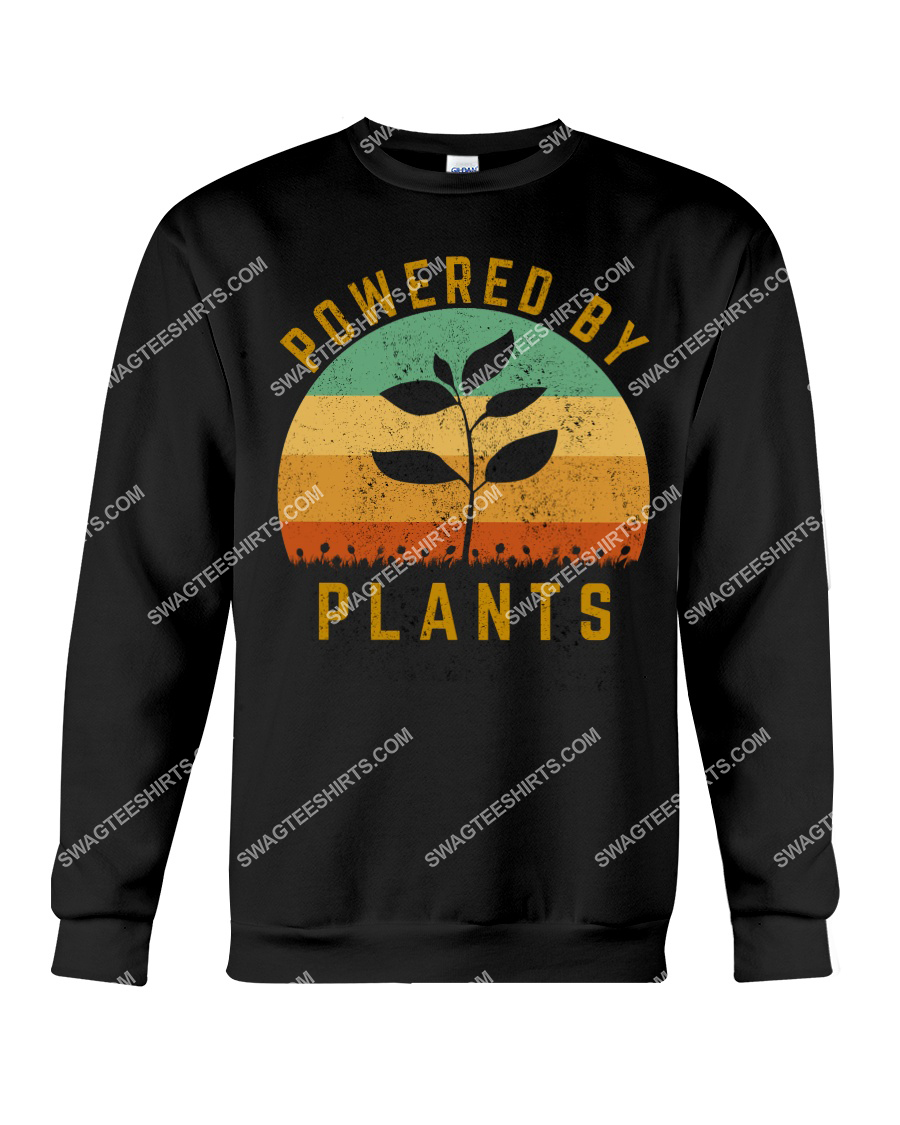 vintage powered by plants save the earth sweatshirt 1