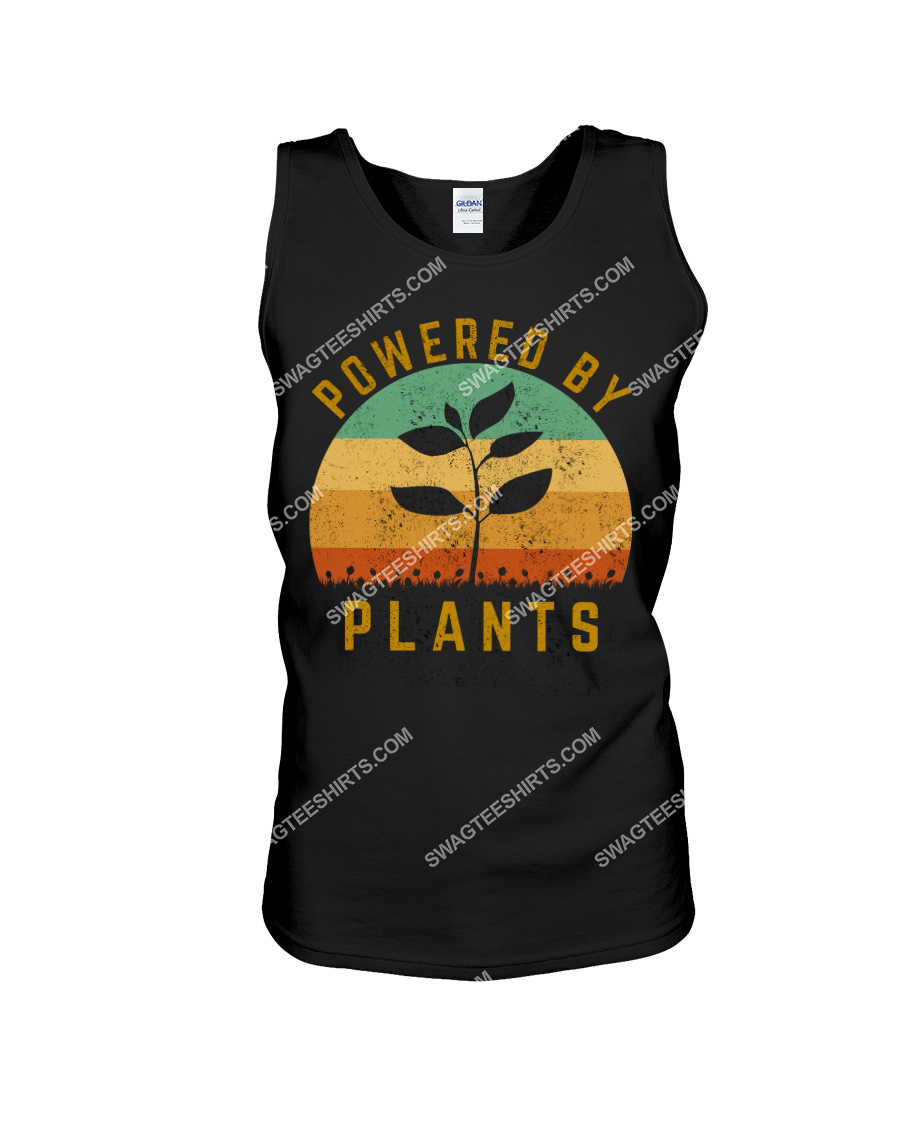 vintage powered by plants save the earth tank top 1
