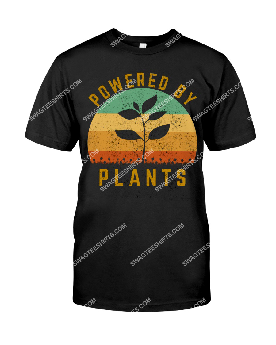 vintage powered by plants save the earth tshirt 1
