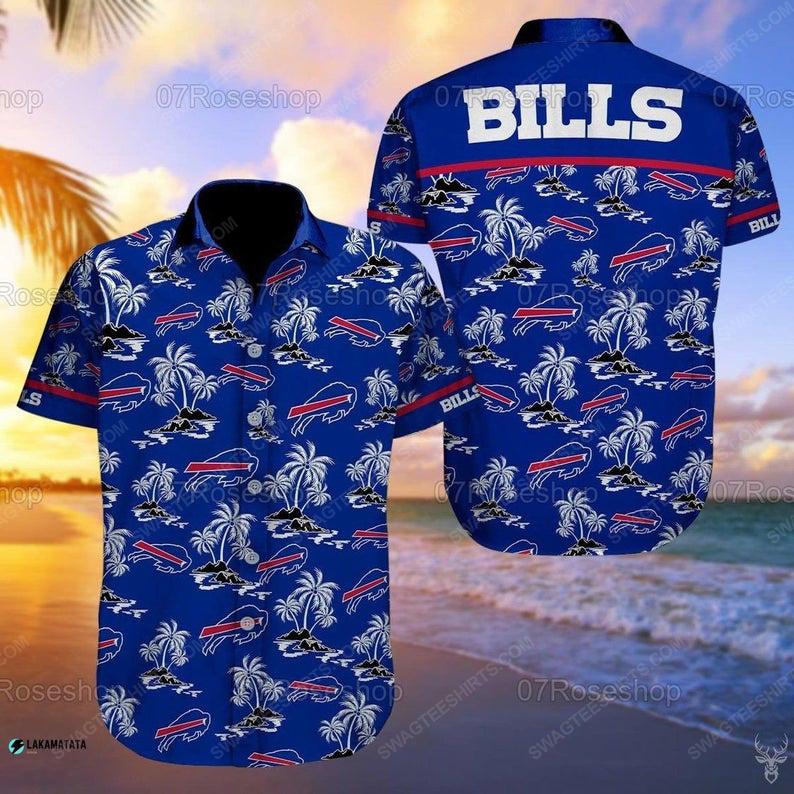 Buffalo bills nfl football sports hawaiian shirt 1