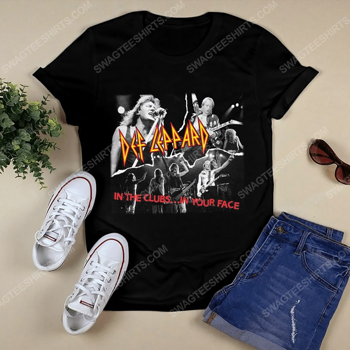 Def leppard in the clubs in your face vintage shirt 2(1)