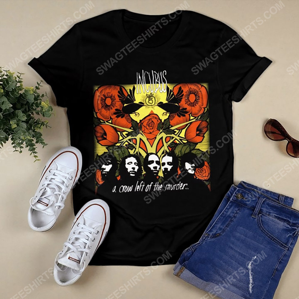 Incubus a crow left of the murder album shirt 2(1)