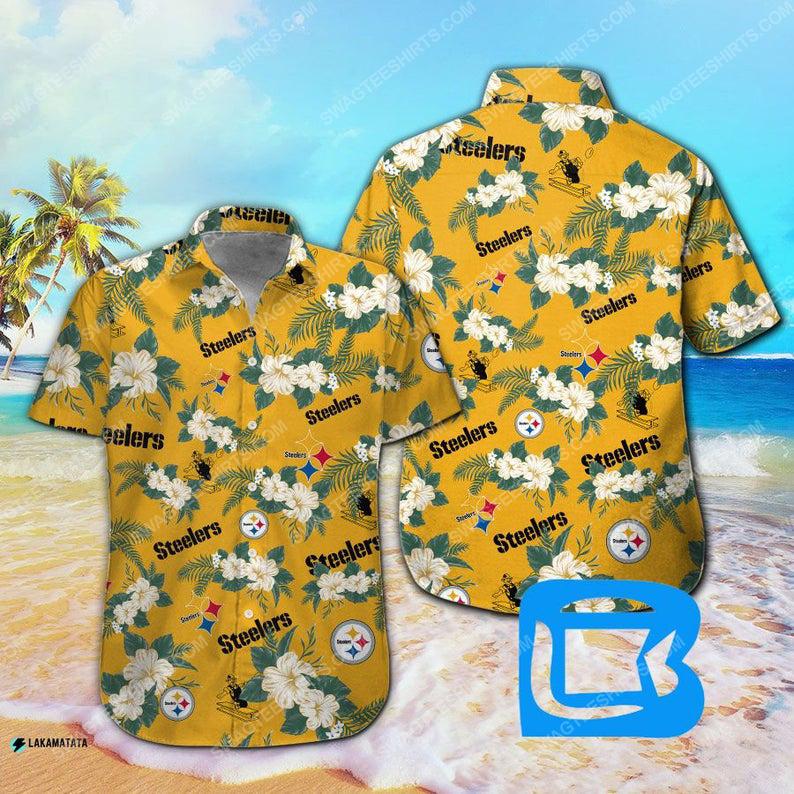 Pittsburgh steelers nfl football sport hawaiian shirt 1