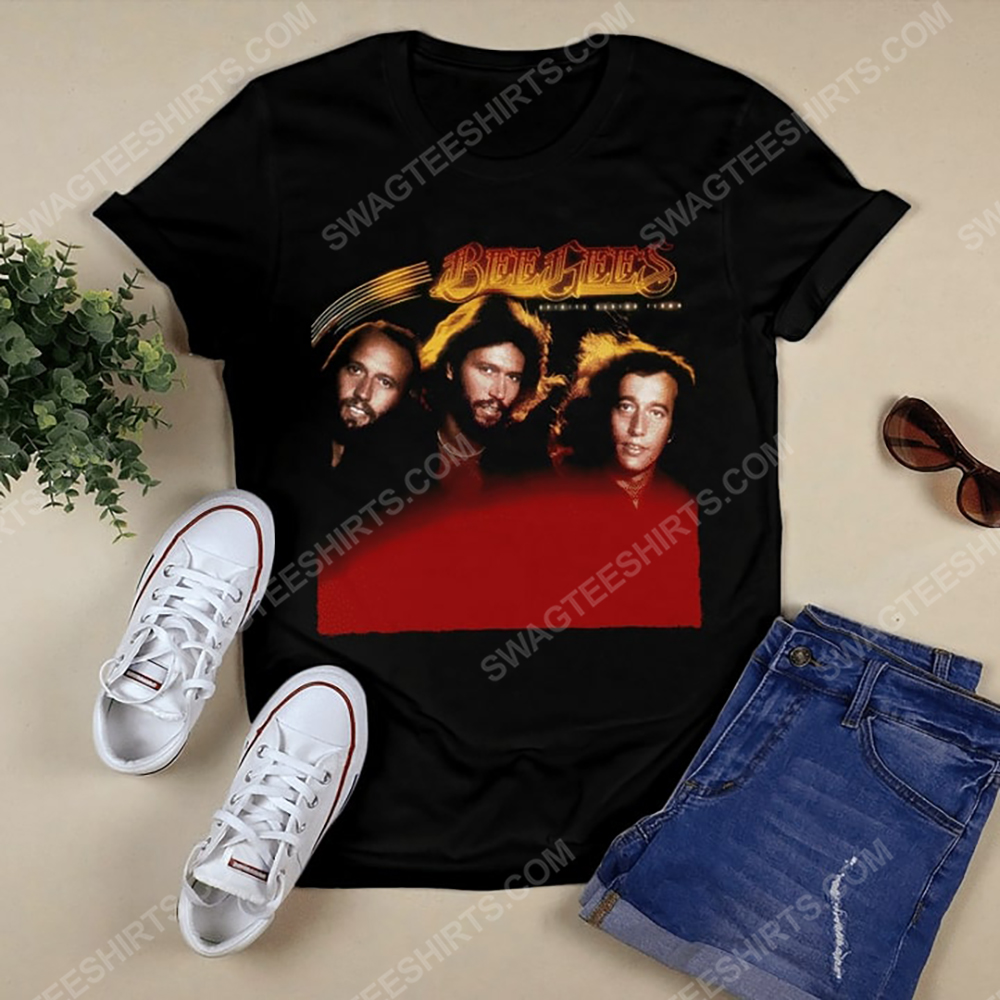 Vintage bee gees music band the disco music shirt 2(1)