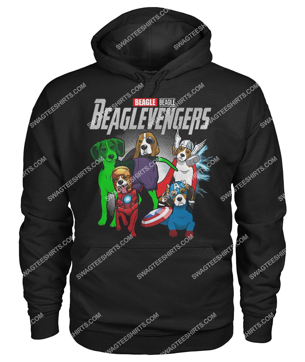 beagle beaglevengers marvel avengers dogs lover hoodie 1