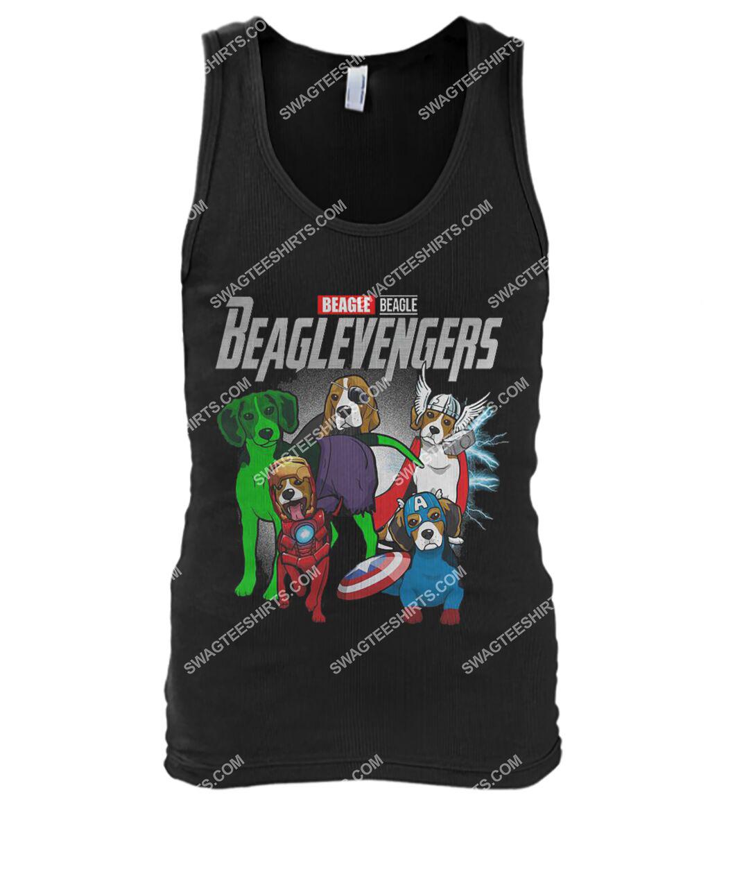beagle beaglevengers marvel avengers dogs lover tank top 1
