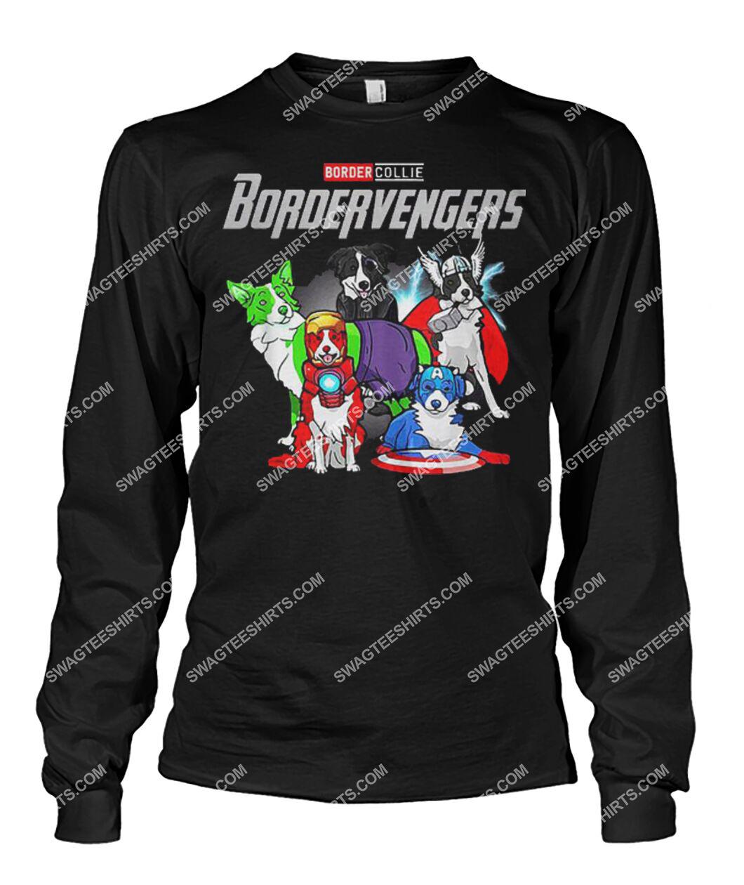 border collie bordervengers marvel avengers dogs lover sweatshirt 1