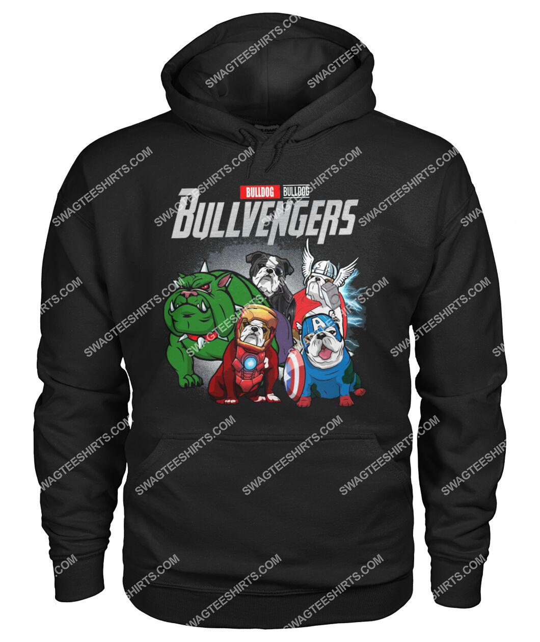 bull dog bullvengers marvel avengers dogs lover hoodie 1