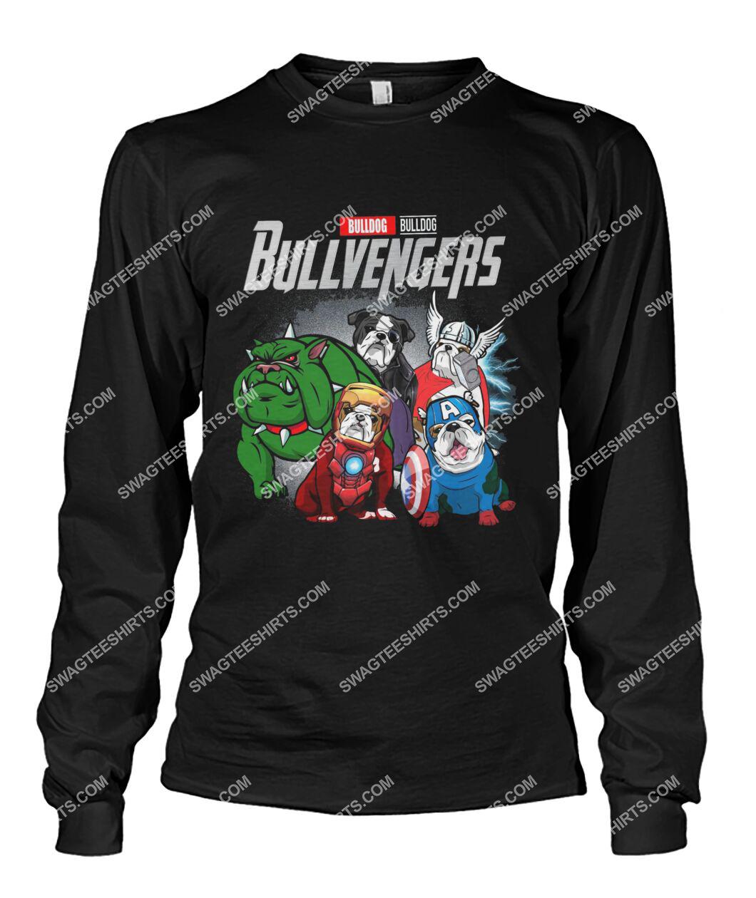 bull dog bullvengers marvel avengers dogs lover sweatshirt 1