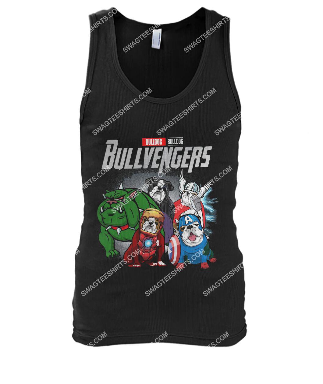 bull dog bullvengers marvel avengers dogs lover tank top 1