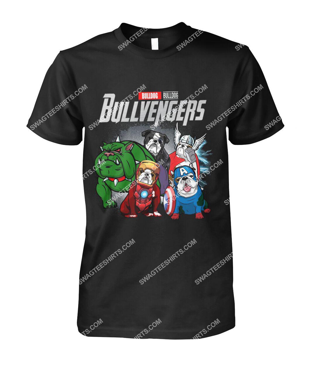 bull dog bullvengers marvel avengers dogs lover tshirt 1