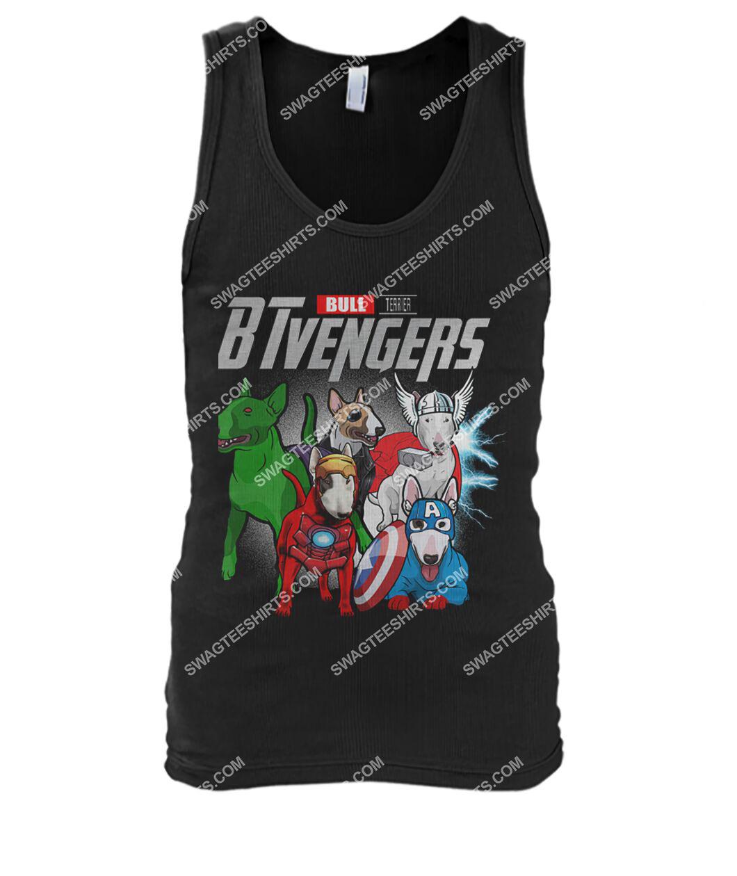 bull terrier btvengers marvel avengers dogs lover tank top 1