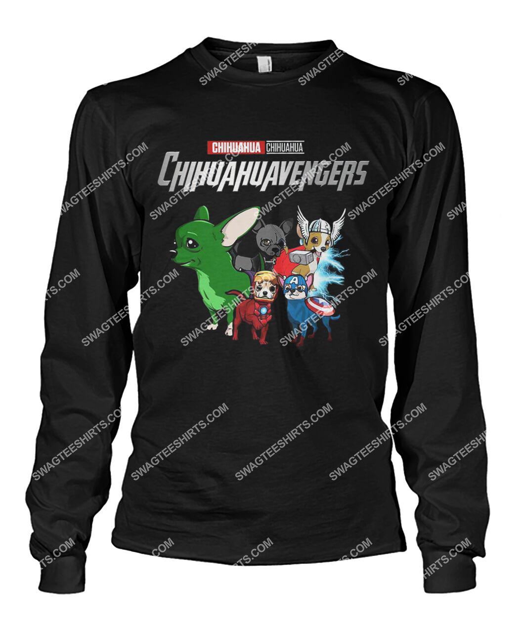 chihuahua chihuahuavengers marvel avengers dogs lover sweatshirt 1