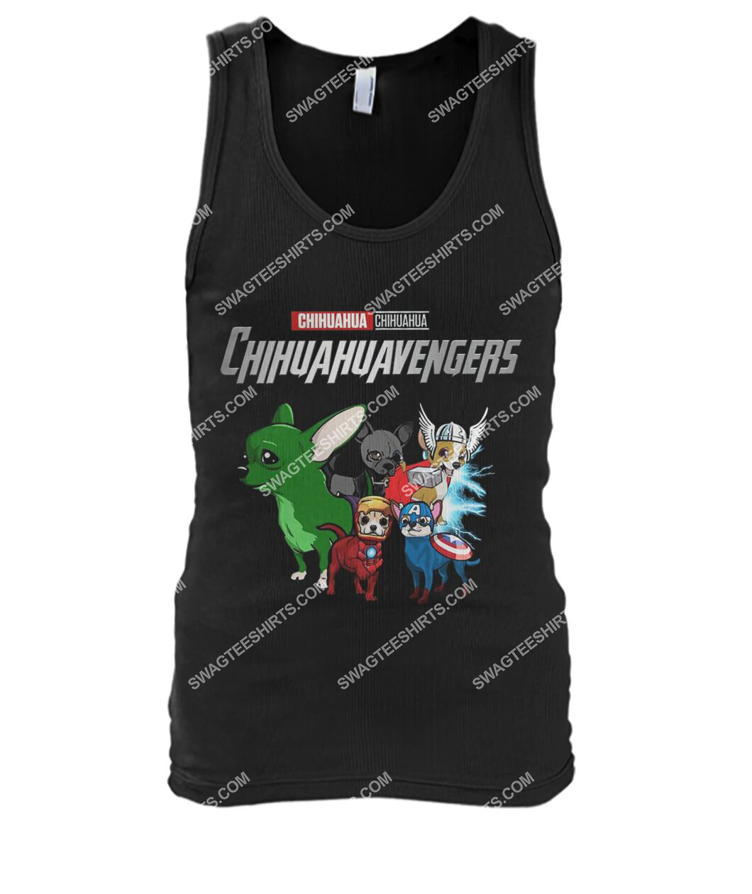 chihuahua chihuahuavengers marvel avengers dogs lover tank top 1