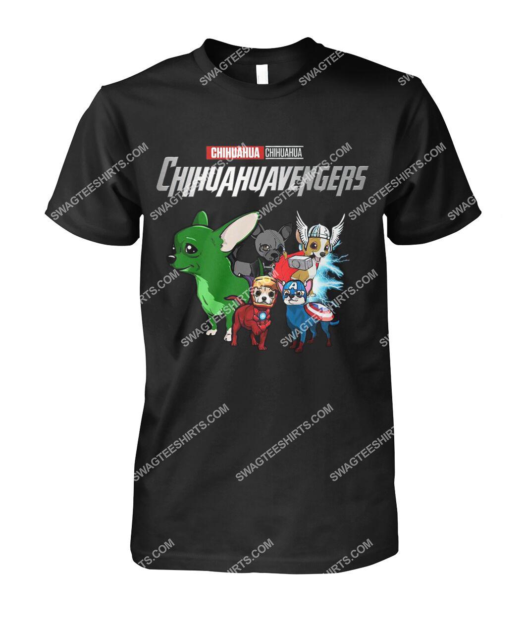 chihuahua chihuahuavengers marvel avengers dogs lover tshirt 1