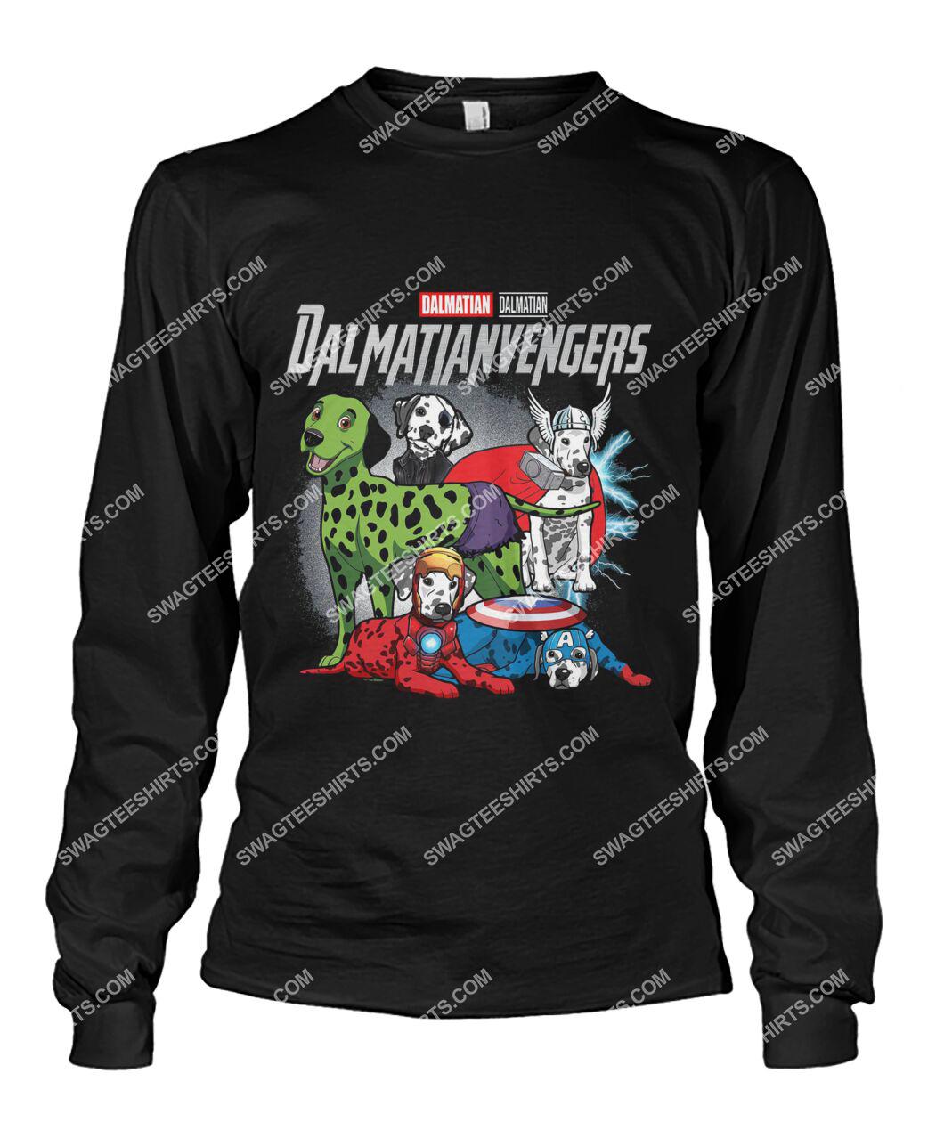 dalmatian dalmatianvengers marvel avengers dogs lover sweatshirt 1