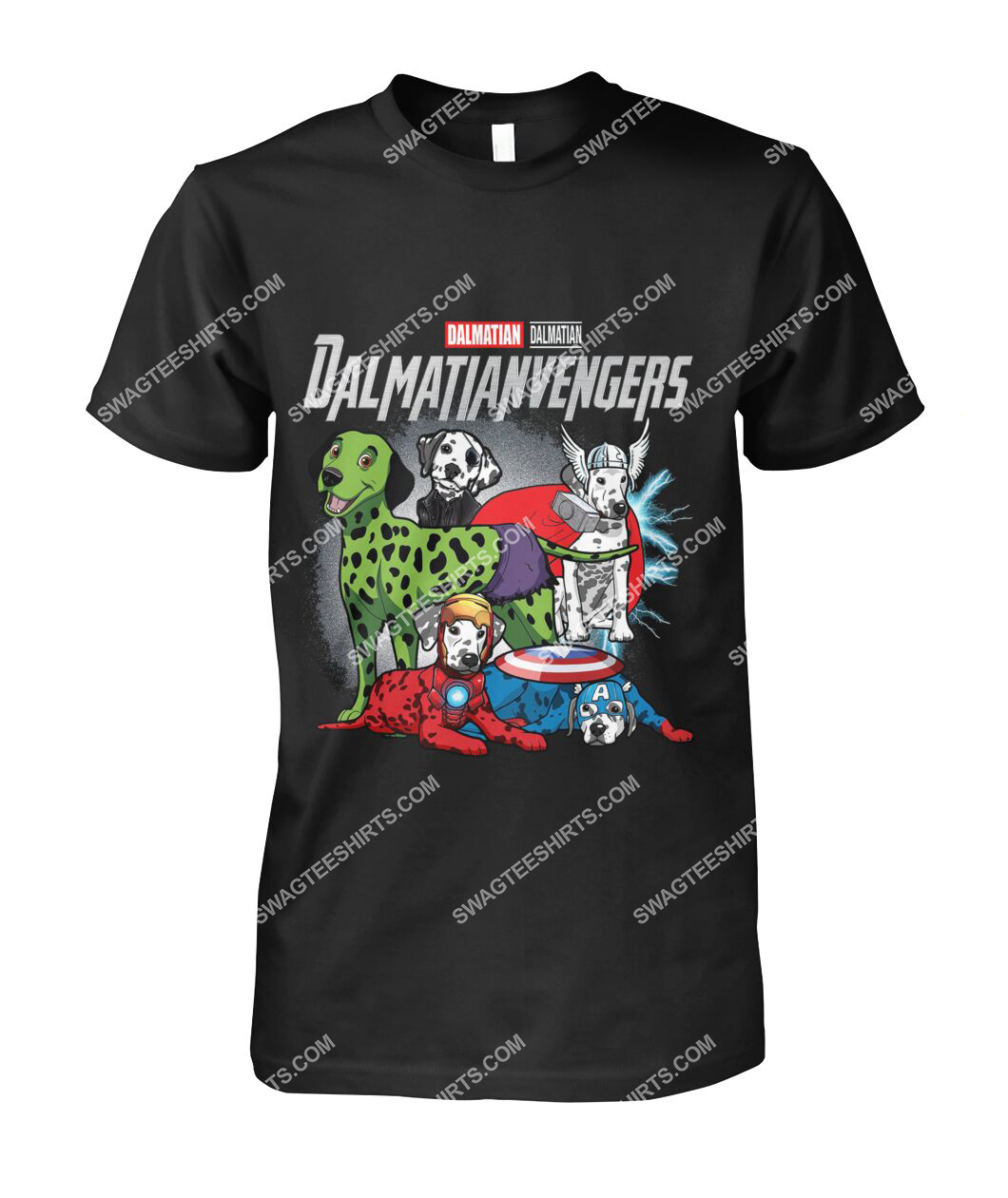 dalmatian dalmatianvengers marvel avengers dogs lover tshirt 1