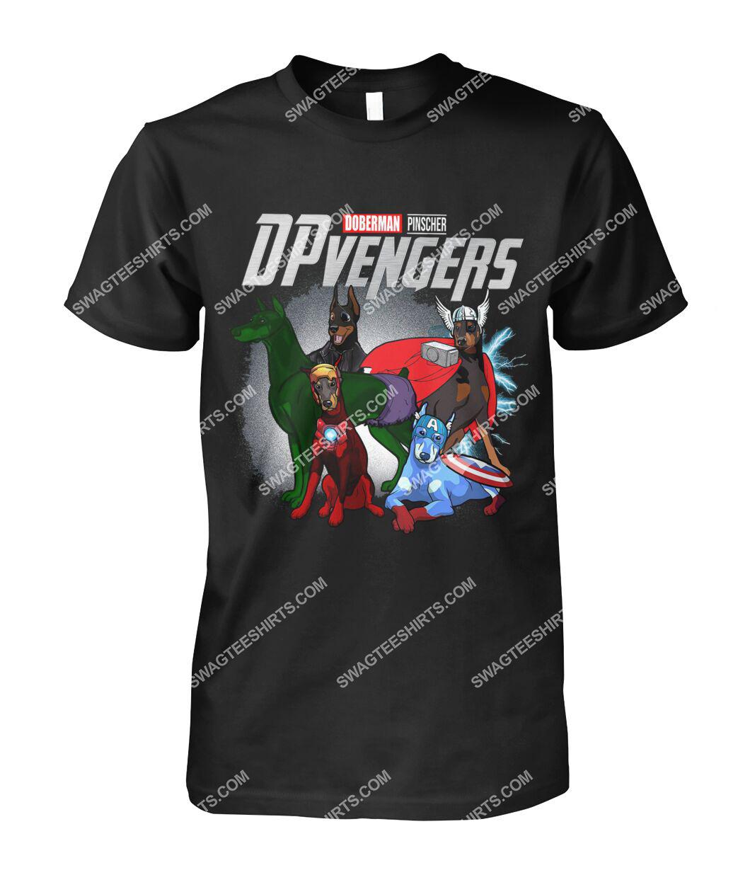 doberman pinscher dpvengers marvel avengers dogs lover tshirt 1