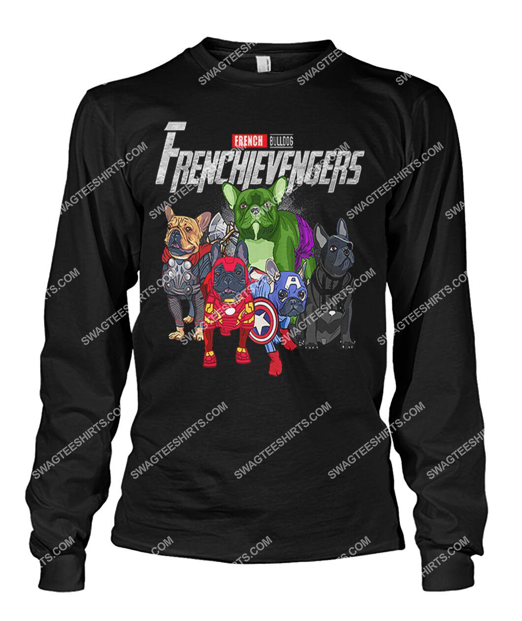 french bulldog frenchievengers marvel avengers dogs lover sweatshirt 1
