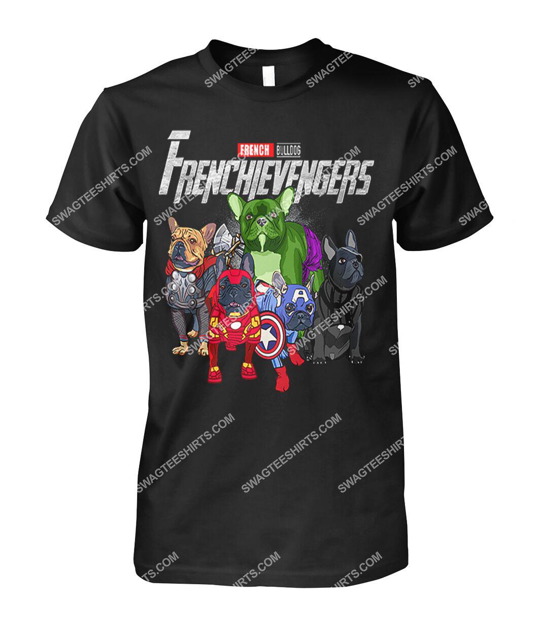 french bulldog frenchievengers marvel avengers dogs lover tshirt 1