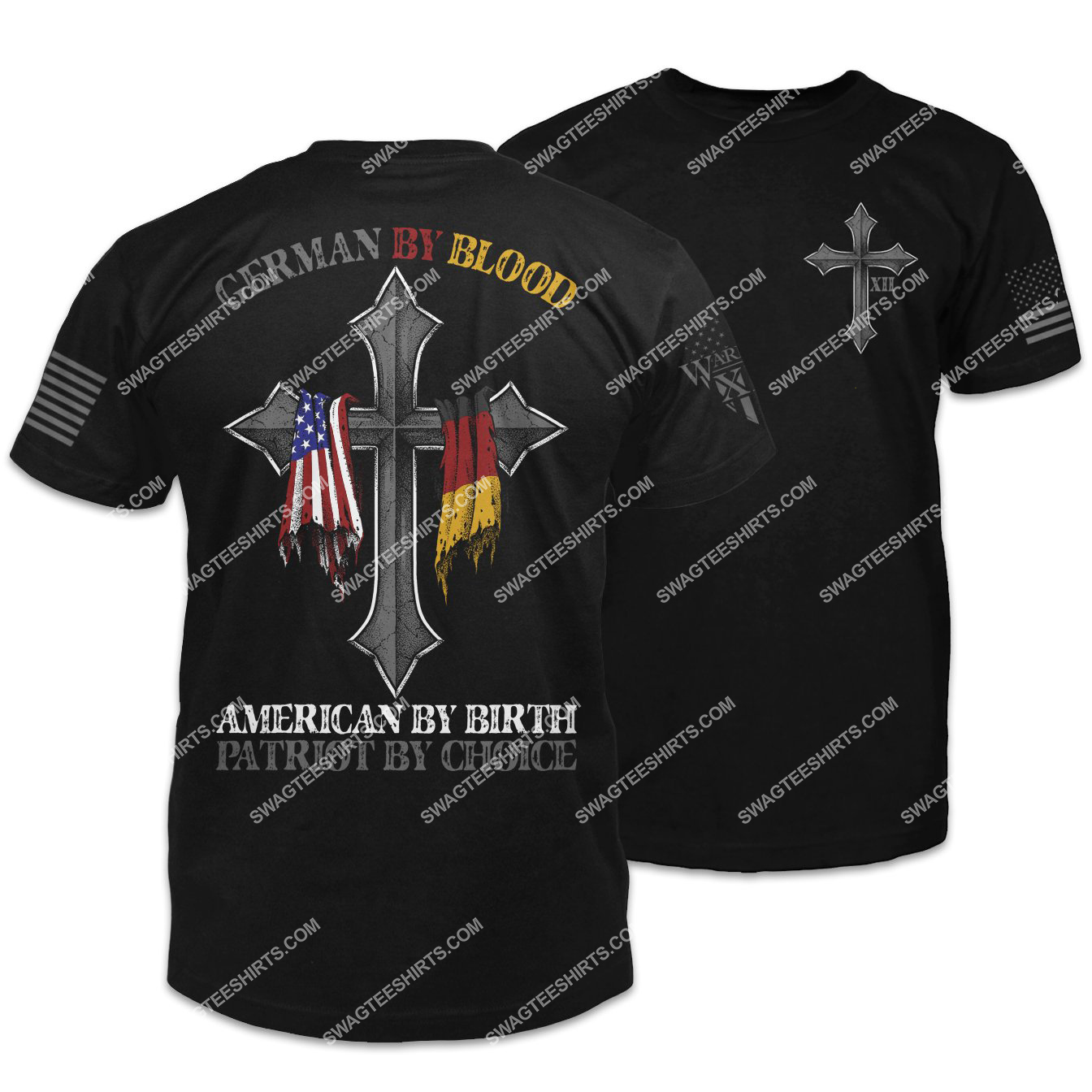 german by blood american by birth patriot by choice shirt 1