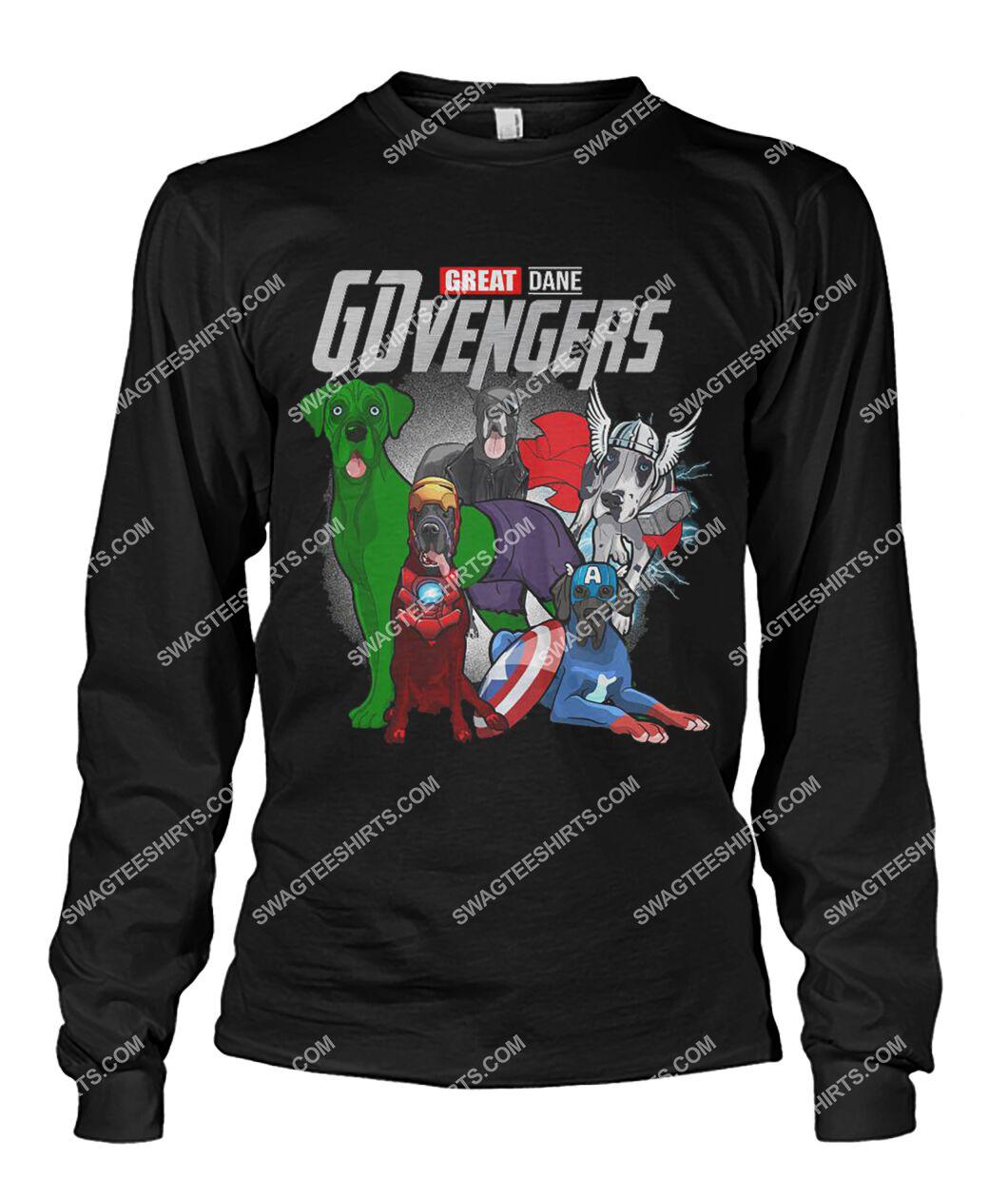great dane gdvengers marvel avengers dogs lover sweatshirt 1
