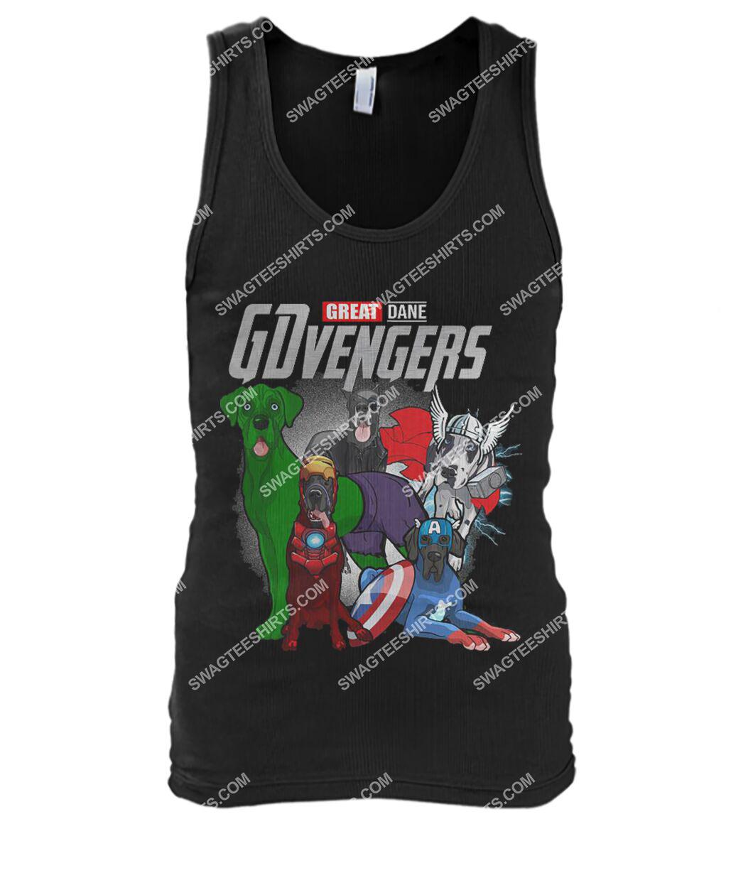 great dane gdvengers marvel avengers dogs lover tank top 1