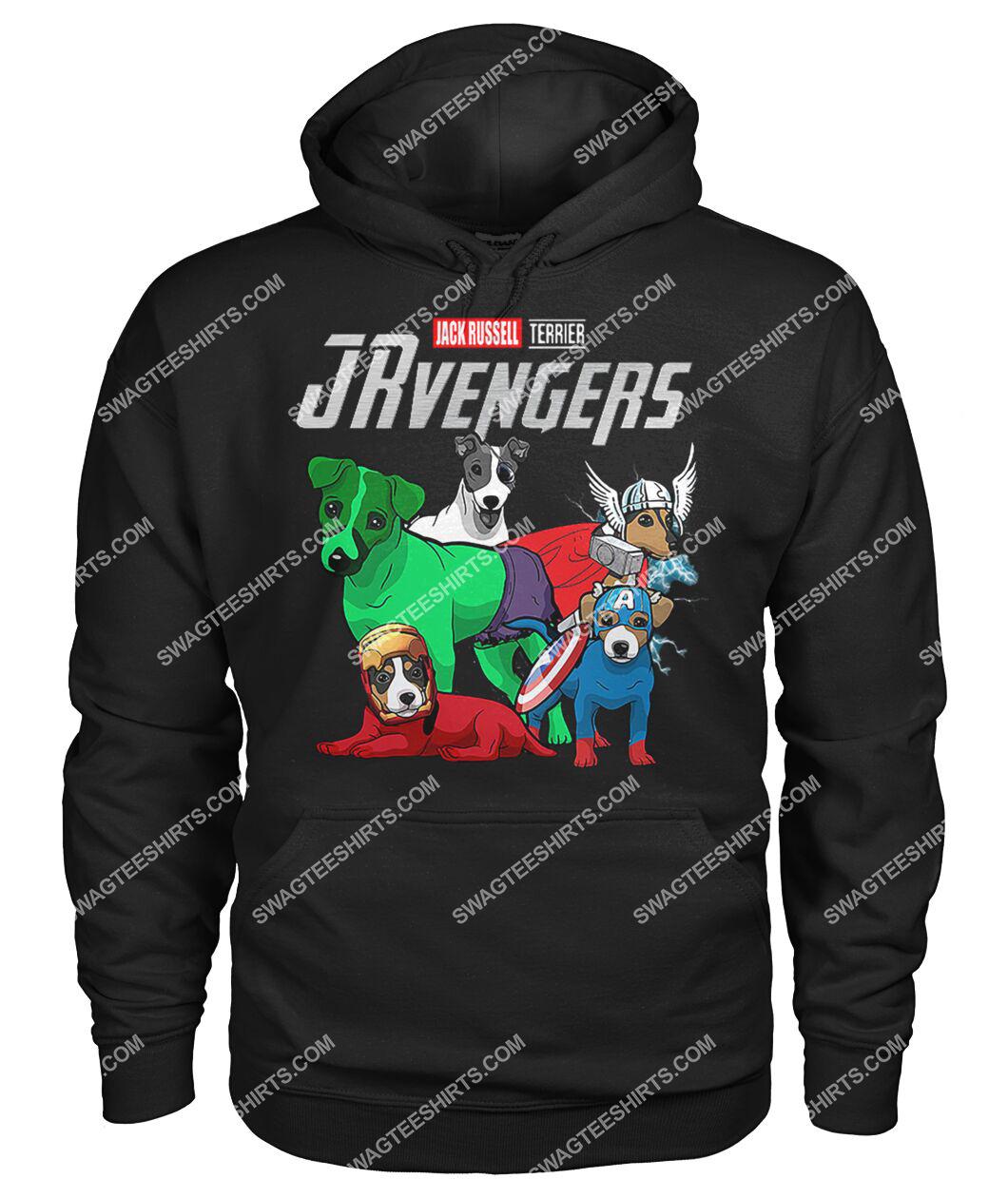 jack russell jrvengers marvel avengers dogs lover hoodie 1
